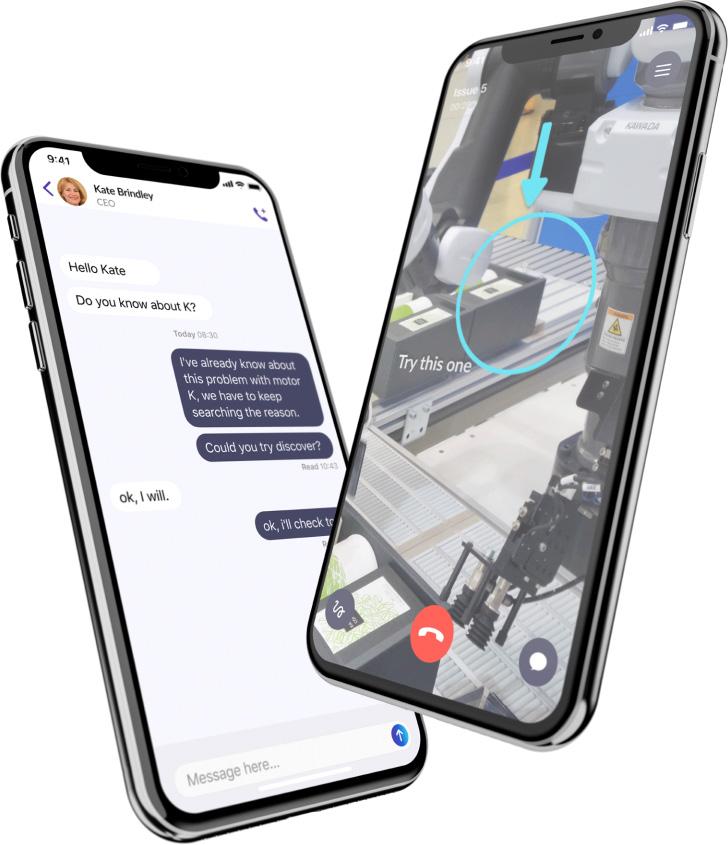 Ermes Augmented Assistance application